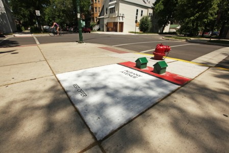 O Bored κάνει το Σικάγο ένα τεράστιο παιχνίδι Monopoly