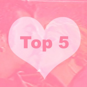Top 5 – Τηλεοπτικοί έρωτες