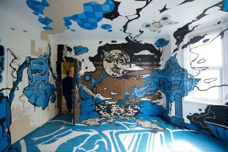 Η Street Art Μπαίνει στα Σπίτια