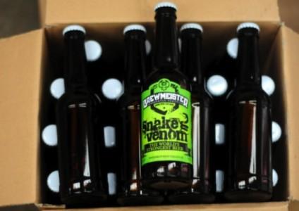 Snake Venom: Η πιο δυνατή μπύρα του κόσμου