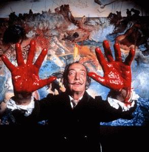 Ο Salvador Dali, μέσα απ' τον φακό του Philippe Halsman