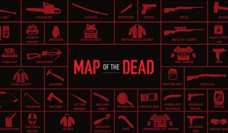 Map of the Dead: Συμβουλές επιβίωσης για το zombie apocalypse #1