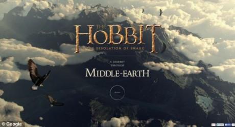 Ταξίδι στη Μέση Γη του Χόμπιτ από την Google