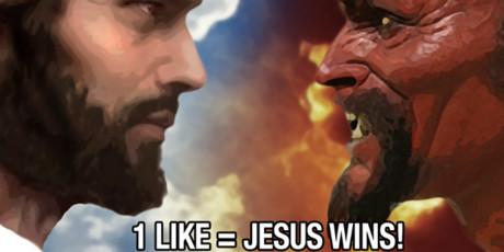 9 υπέρτατες φωτογραφίες επιλογής καλού ή κακού από τη σελίδα του Ιησού στο Facebook