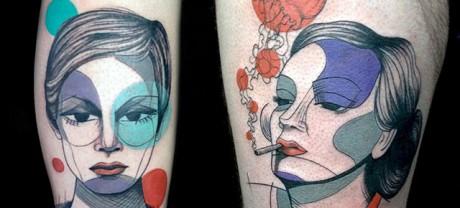 Τα υπέροχα αντισυμβατικά τατουάζ της Steph Hanlon