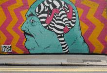 Ο Λονδρέζος INSA δημιουργεί σκαλωματικά κινούμενα γκραφίτι