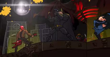 BATMETAL: Ο Μπάτμαν ανακάλυψε το death metal και να το αποτέλεσμα