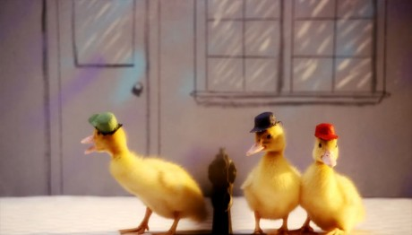 "VIDEO: Οι τίτλοι αρχής του ""Ducktales"" με ζωντανές πάπιες"