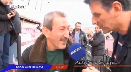 Η συνέντευξη του Ανδρέα του Άνεργου στον Σωτήρη Γεωργούντζο είναι ό,τι πιο καλτ θα δεις σήμερα