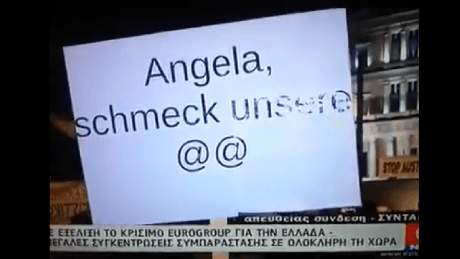 Πέρασαν 2 ώρες χώρις ο Τζήμερος να γράψει status για τους ηλίθιους Έλληνες με τα ηλίθια πανό τους