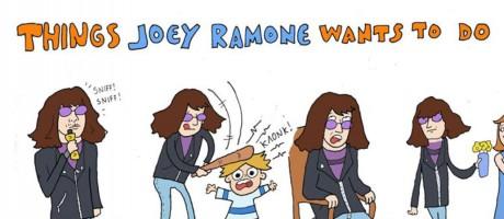 Τελικά τι θέλεις, Τζόι Ραμόν;