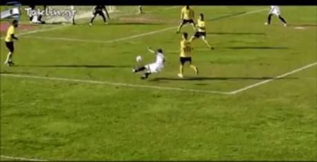 To καλύτερο πέναλτι στα χρονικά του ελληνικού ποδοσφαίρου δόθηκε σήμερα στο γήπεδο της Καλαμάτας (VIDEO)