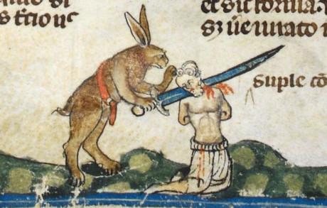 10 πασχαλιάτικα κουνέλια από το μεσαίωνα που θέλουν το κακό σου (PHOTOS)