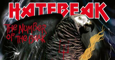 Οι Hatebeak είναι η πρώτη death metal μπάντα με τραγουδιστή παπαγάλο
