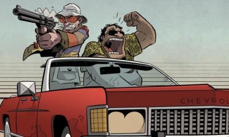"""Το """"Φόβος και Παράνοια στο Λας Βέγκας"""" έγινε graphic novel"""