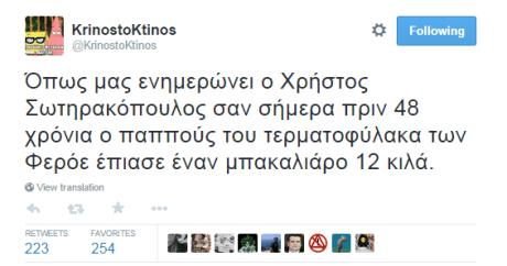 30 tweets για την αξιοχλεύαστη ήττα της Εθνικής μας ομάδας από τα Νησιά Φερόε