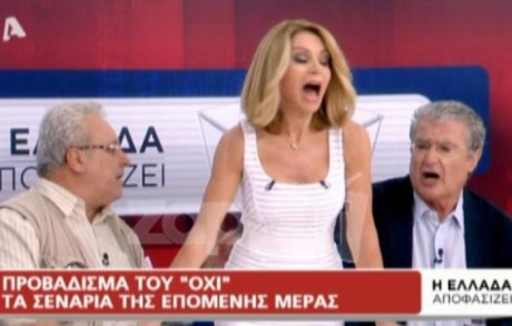 AΦΙΕΡΩΜΑ: Όλα τα επικά γαμωσταυρίδια της TV τη βραδιά του δημοψηφίσματος (VIDEO)