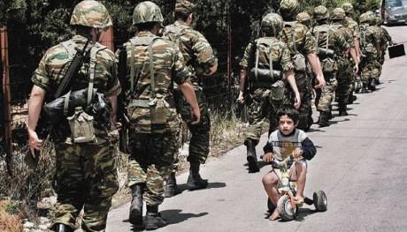Φαντάροι του Ελληνικού Στρατού γράφουν γράμμα πως δεν πρόκειται να στραφούν κατά των μεταναστών
