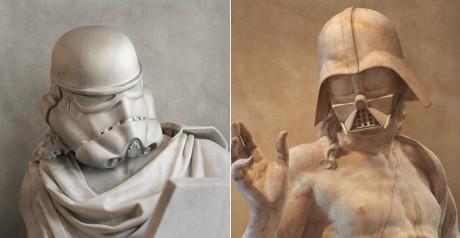 Ένας γλύπτης έφτιαξε τους χαρακτήρες του Star Wars σε στυλ σαν αρχαιοελληνικά αγάλματα (PHOTO)