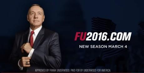 Το House of Cards επιστρέφει με σποτάκια του Frank Underwood στο debate των Ρεπουμπλικανών (VIDEO)