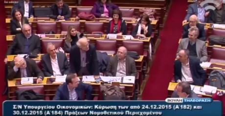 Όταν δύο δικηγόροι βουλευτές παθαίνουν Ζουράρι και μπινελικώνονται σε άψογα αρχαία Ελληνικά (VIDEO)