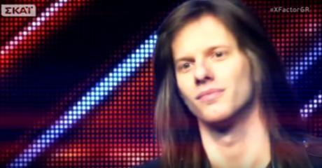 Έλληνας Bruce Dickinson εκτελεί Άλκηστη Πρωτοψάλτη στο X-Factor (VIDEO)