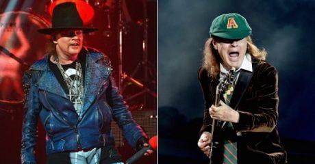 Frontman των AC/DC για την καλοκαιρινή τους περιοδεία ο Axl Rose των Guns 'n' Roses