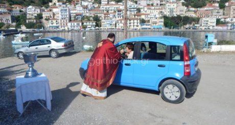 Δεν το ξέρατε αλλά σήμερα γιορτάζει ο Άγιος Χριστόφορος και οι παπάδες ευλογούν αυτοκίνητα (PHOTO)