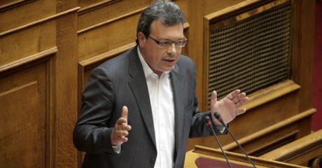 O κοινοβ. εκπρόσωπος του ΣΥΡΙΖΑ Σ. Φάμελλος χαρακτήρισε την Aντιπολίτευση γεροντοκόρη και κακιά
