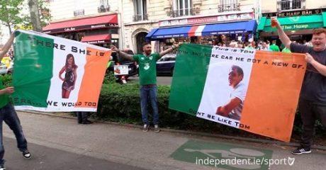 Ιρλανδοί οπαδοί δουλεύουν τον κολλητό τους που δεν ταξίδεψε στο Euro γιατί βρήκε κοπέλα