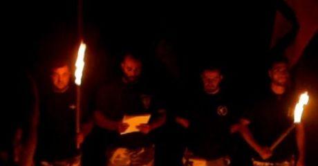 Όταν ο Ρουπακιάς όρκιζε νεοσύλλεκτους χρυσαυγίτες σε μυστικιστική τελετή στην Ηλεία (VIDEO)