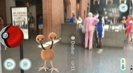Το μουσείο Ολοκαυτώματος στην Ουάσινγκτον έγινε Pokestop και κόσμος πάει εκεί για να βρει Πόκεμον