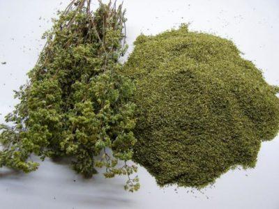 Ρέφαραν οι Aρχές για τους 2 τόνους ηρωίνης με την κατάσχεση 40kg παράνομα συλλεγμένης ρίγανης