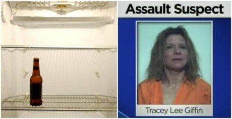 45χρονη επιτέθηκε στον 59χρονο άνδρα της με ψαλίδι γιατί της καβάτζωσε την τελευταία μπίρα απ' το ψυγείο