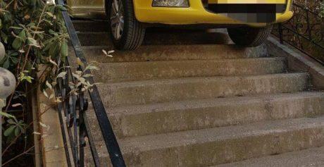 Προφανώς έλληνας ταρίφας στο Παγκράτι ήταν αυτός που κατάφερε το ακατόρθωτο παρκάρισμα (PHOTO)