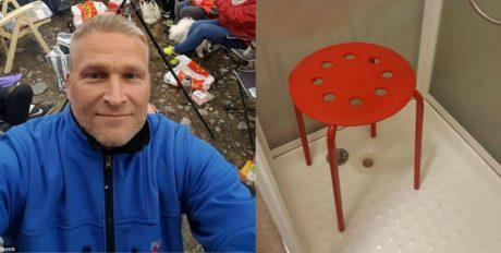Νορβηγός περιγράφει στη σελίδα της ΙΚΕΑ πως ένα σκαμπό κράτησε τον όρχι του όμηρο για 10 λεπτά