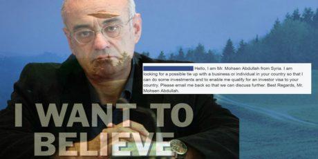 Ο Δημήτρης Μάρδας απάντησε σοβαρά σε μούφα σχόλιο στο fb που παρίστανε τον Σύρο επενδυτή