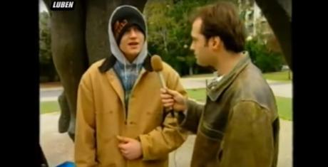 Όταν ο 16χρονος Τάκι Τσαν έσκαγε μύτη ξαφνικά στην κάμερα του Χρήστου Φερεντίνου (VIDEO)