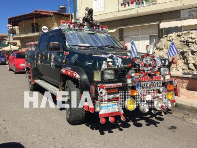 Τα οχήματα στην Ηλεία ταιριάζουν απόλυτα με την ψυχεδέλεια του αγαπημένου μας νομού (PHOTO)