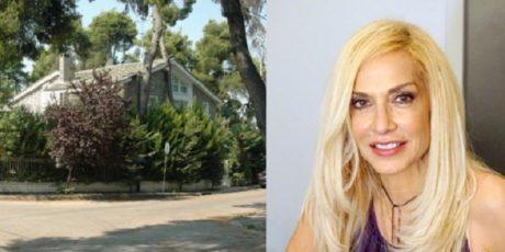 Θύμα ληστείας έπεσε και η Άννα Βίσση στο σπίτι της στην Εκάλη