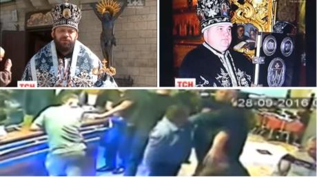 Ουκρανοί σχισματικοί παπάδες μπλέκονται σε καυγά μετά από βραδιά με βότκα και γυναίκες (VIDEO)