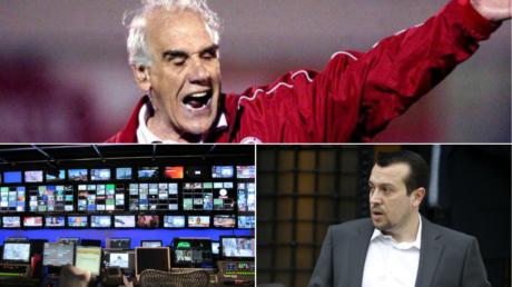 """Νίκος Αλέφαντος για τηλεοπτικές άδειες: """"Τέρμα τα κανάλια επανέρχονται, διαταγή Αλέφαντου"""" (VIDEO)"""
