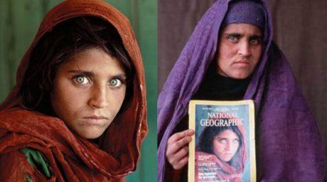 """Συνελήφθη το """"κορίτσι του Αφγανιστάν"""" για πλαστογραφία από την αστυνομία του Πακιστάν"""