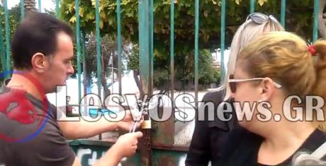 ΠΟΥ ΕΙΝΑΙ ΤΟ ΝΟΜΠΕΛ: Λουκέτο από γονείς σε σχολείο που θα δεχθεί προσφυγόπουλα στη Λέσβο (VIDEO)
