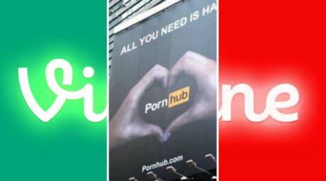 Το Pornhub ψήνεται να αγοράσει το Vine για να το κάνει πορνοσάιτ στιγμιαίας απόλαυσης