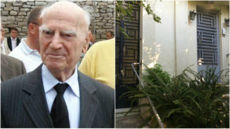 Λήστεψαν το δικτάτορα Παττακό στο σπίτι του στα Πατήσια και θυμηθήκαμε ότι ζει ακόμα (PHOTOS)