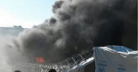Εξέγερση στο hot spot στη Μόρια της Λέσβου με ΜΑΤ και προσαγωγές προσφύγων