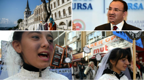Τουρκία: Αθώος θα κρίνεται όποιος κακοποιεί σεξουαλικά ανήλικη, αλλά την παντρεύεται στη συνέχεια
