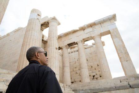 Ο Ομπάμα ανέβασε βίντεο απ' την Ακρόπολη και το ελληνικό ίντερνετ ερεθίστηκε (VIDEO)