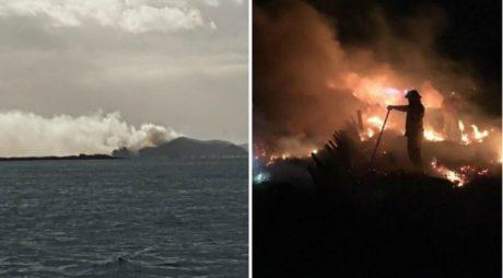 Νέα Ζηλανδία: 30χρονη βάζει φωτιά σε απομονωμένο νησί για να ρθει κάποιος να τη μαζέψει (PHOTOS)